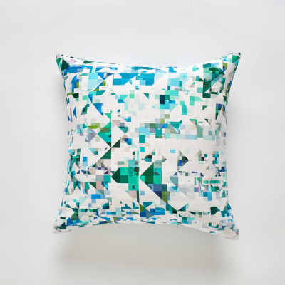 Northmore Minor Teal cushion 50x50cm