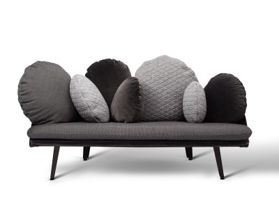 Nubilo Sofa Black, Grey
