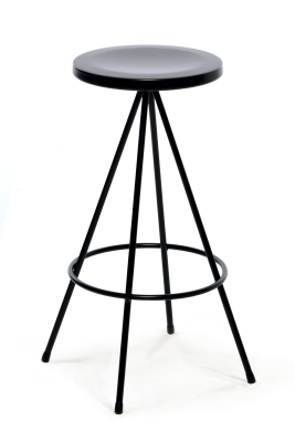 Nuta Barstool Black, 75 cm