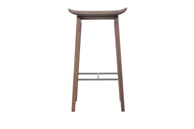 NY11 Bar Chair Walnut, Low