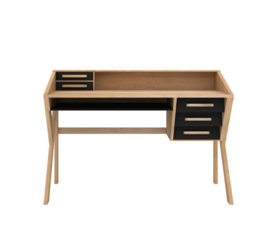Oak Marius Origami Desk Black