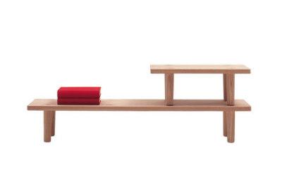 Oak Table Module Service Table Wood Natural Oak, Big Service Table 1