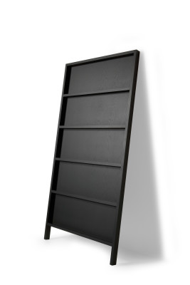 Oblique Book Shelf RAL 9016, Big