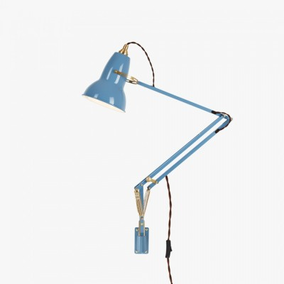 Original 1227 Brass Wall Mounted Lamp by Anglepoise