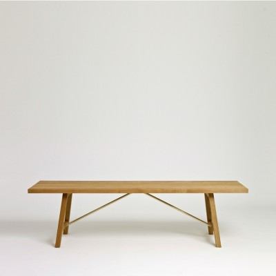 Outdoor Bench Two Oak