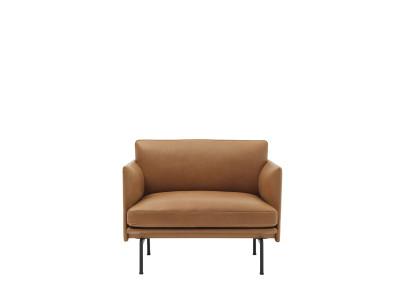 Outline Chair B0300 - Elmosoft 44066 orange