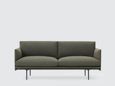 Outline Sofa - 2 Seater Clara 2 983