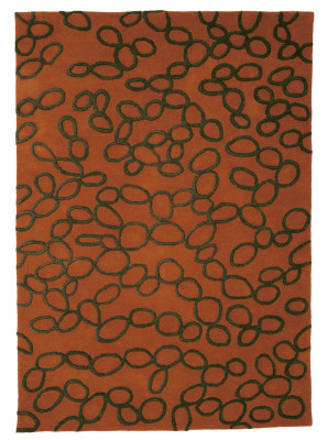 Ovo Rug Orange, 200 x 300 cm