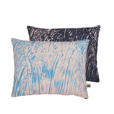 Painter Cushion Pink and Navy