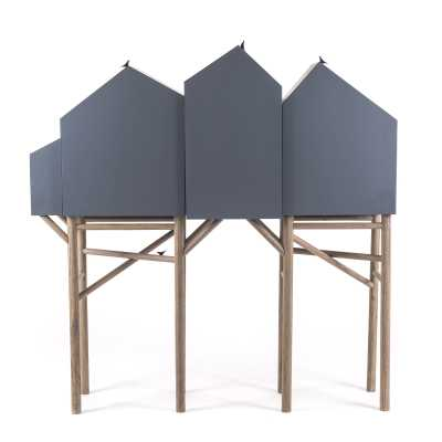 Palafitt 4 doors Sideboard