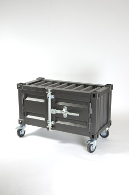Pandora Small cabinet with wheels