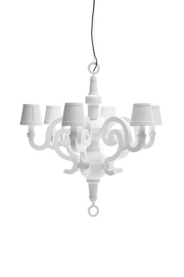 Paper Chandelier L Moooi RAL 6010