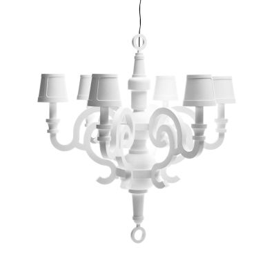 Paper Chandelier XL Moooi RAL 1004