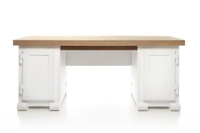 Paper Desk 180 - Set of 3 Moooi White
