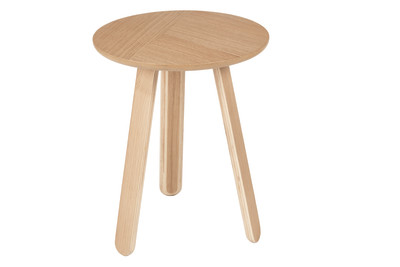Paper Side Table Oak, Small