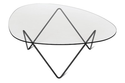 Pedrera Coffee Table Black Frame