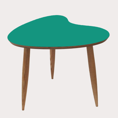 Petal Side Table Teal