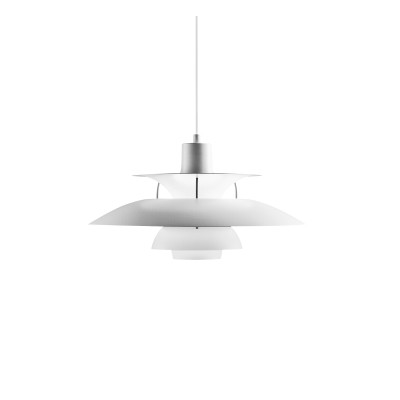 PH 5 Pendant Light Dark Grey / Turquoise Matte