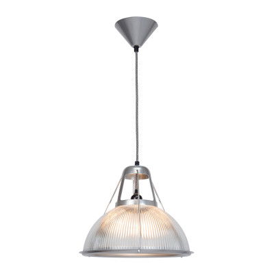 Phane Prismatic Glass Pendant Light Small