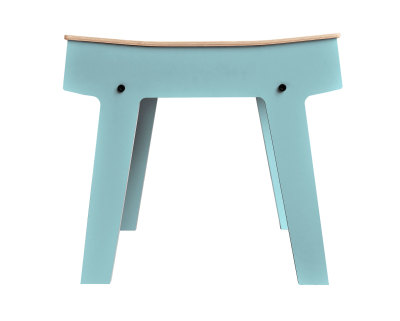 Pi Stool Butterfly Blue