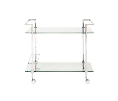 Pioneer T63S Tea trolley Steel Gloss