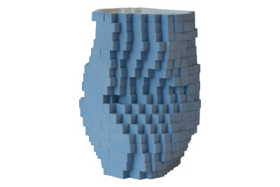 Pixel Vase Number 0201, Medium