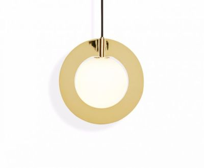 Plane Round Pendant Light