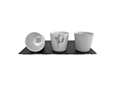 Platinum Cups - Set of 3