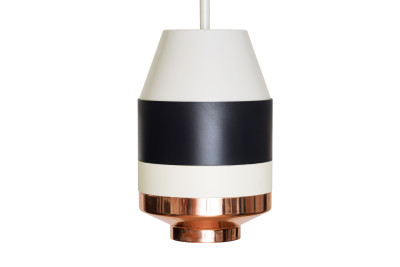 Pran Pandant Light 334-A Light Grey, Black, White & Copper