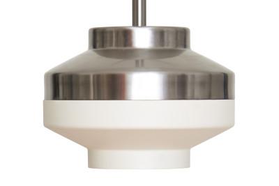 Pran Pendant Light 200 White & Silver