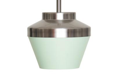 Pran Pendant Light 220-A  Mint & Silver