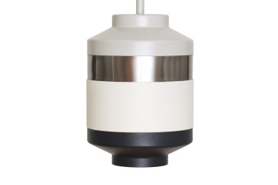 Pran Pendant Light 314 Light Grey, Silver, White & Black