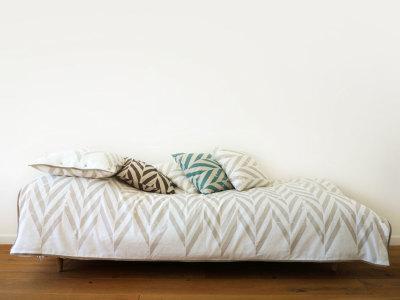 singe bedding set -grey