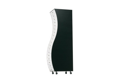 Progetti Compiuti Side 2 Curved Chest Of Drawers OP Matt Lacquer, 01 White