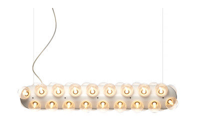 Prop Pendant Light Double - Horizontal 2700K