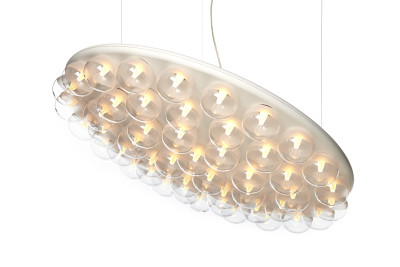Prop Pendant Light Round, Single 2700K