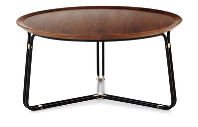 QT Coffee Table Black Lacquer, Small