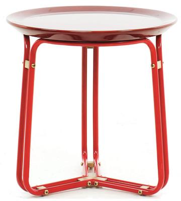 QT Side Table Black Lacquer