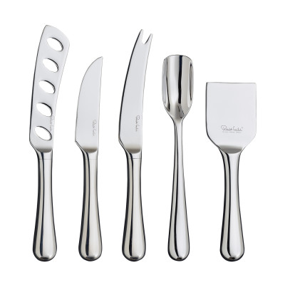 Radford Bright Gourmet Cheese Knife Set 5 Piece