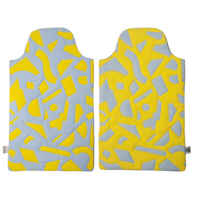 Radium Hot Water Bottle Cover  Yellow