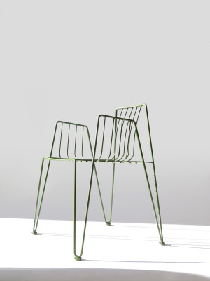 Rambla Dining Chair Olive Green