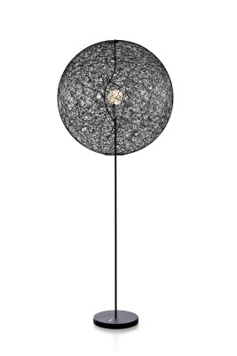 Random LED Floor Lamp Black, Medium