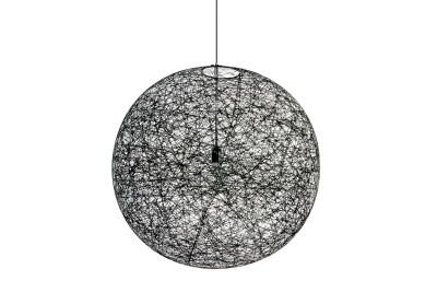 Random Pendant Light Black, Small, 400cm, LED