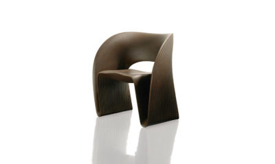 Raviolo Chair Rust Brown