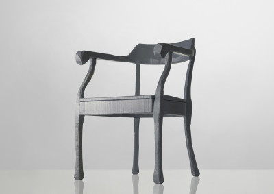 Raw Lounge Chair Grey