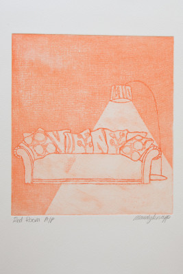 Red Room Print