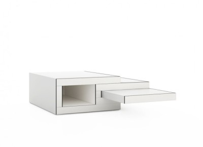 REK coffee table White