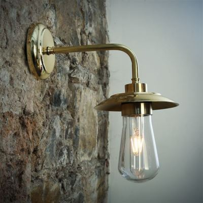 Ren Wall Light Polished Brass