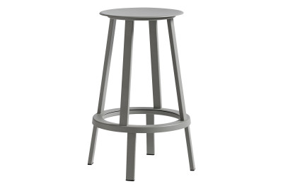 Revolver Stool Grey, Low