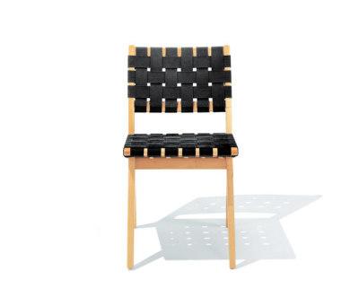 Risom Side chair Black Webbing